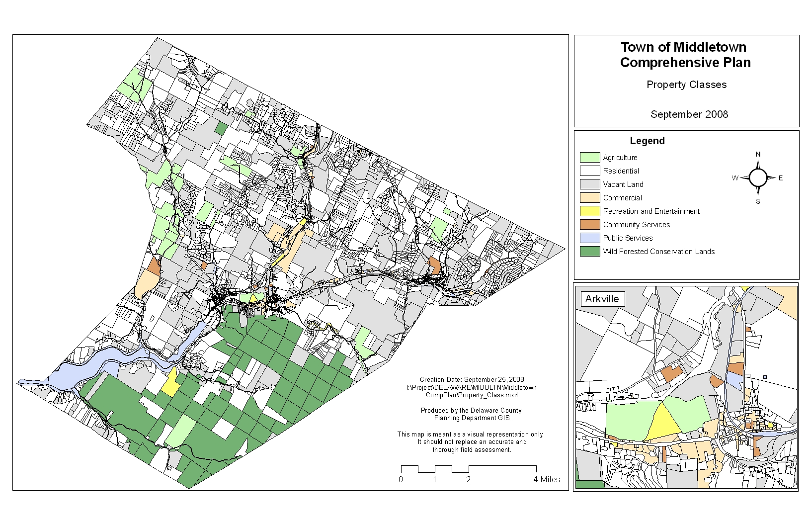 Town of Middletown - Community Planning & Enviromental ociates Zoning Map Nyc on